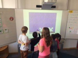 Medieneinsatz in der Grundschule an der Blutenburgstraße