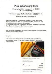 thumbnail of Platz schaffen mit Herz – Danke!